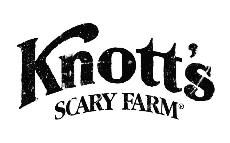 Knott's Scary Farm Logo Black