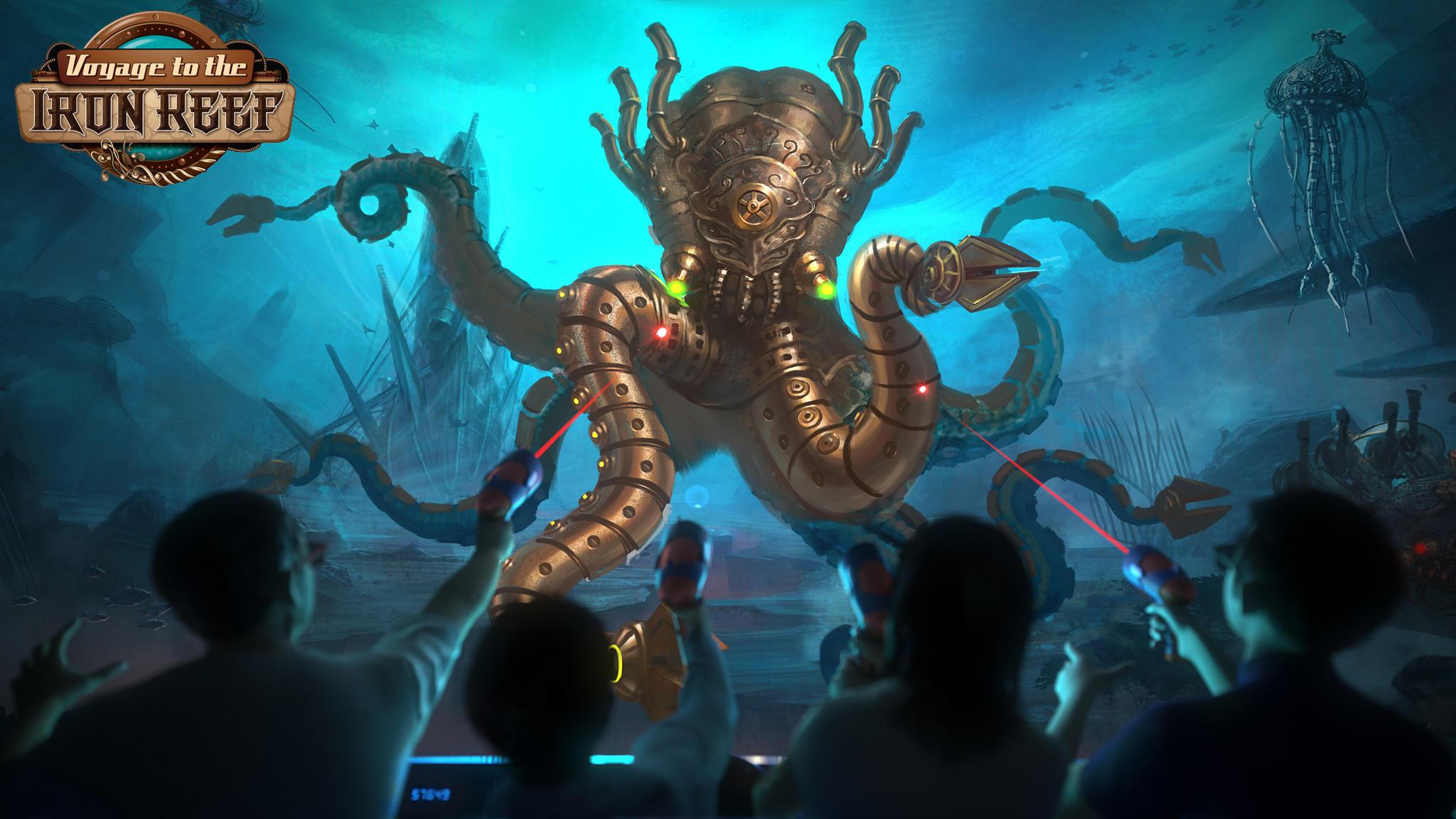 Knott S Berry Farm Announces New Interactive Dark Ride For