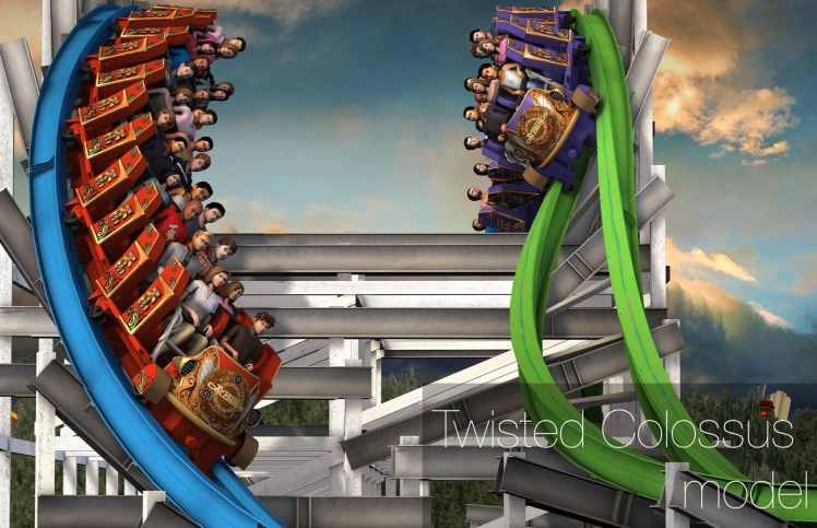 Twisted Colossus model logo